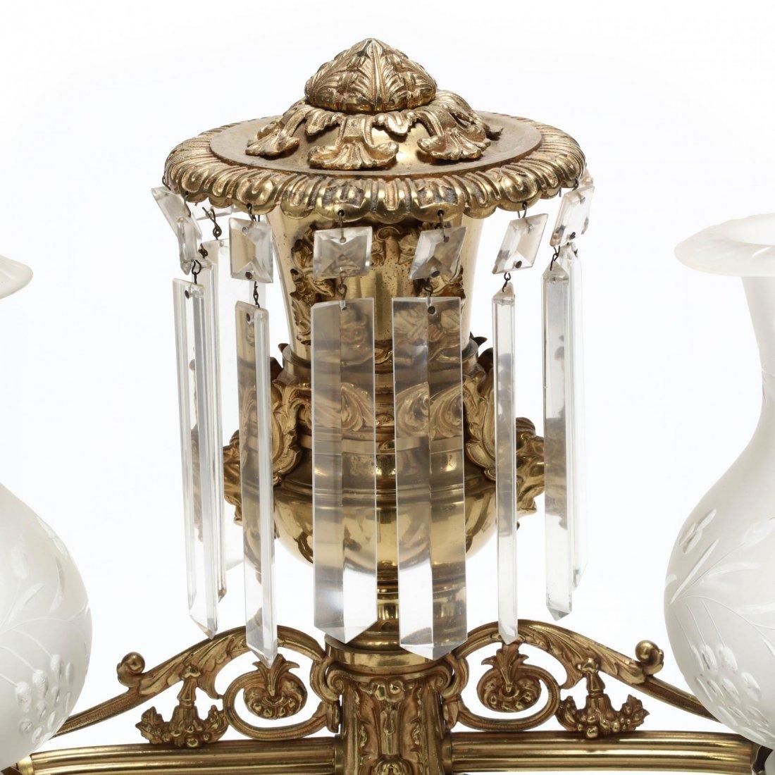 Lewis Veron & Co., Pair of Argand Lamps - 5