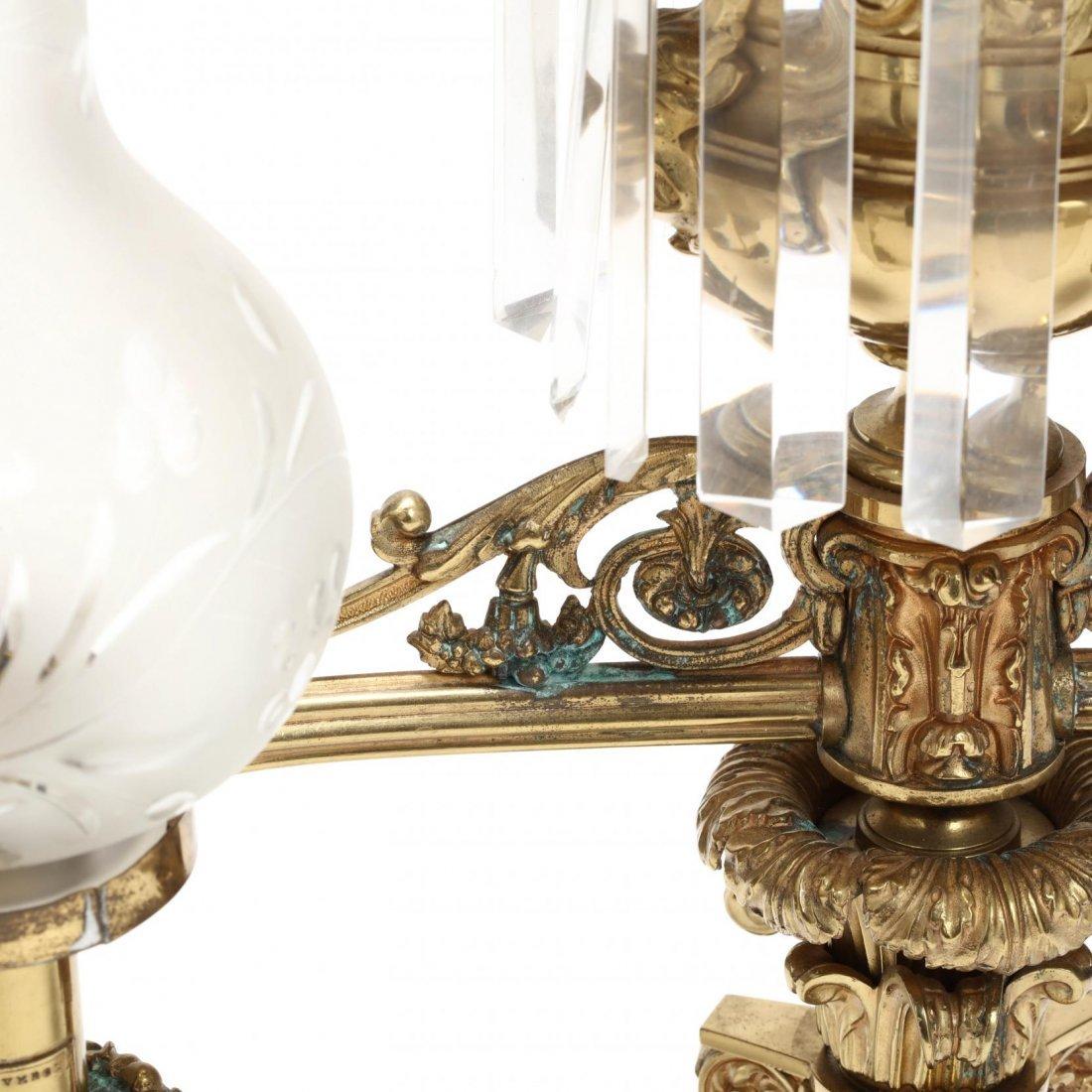 Lewis Veron & Co., Pair of Argand Lamps - 8