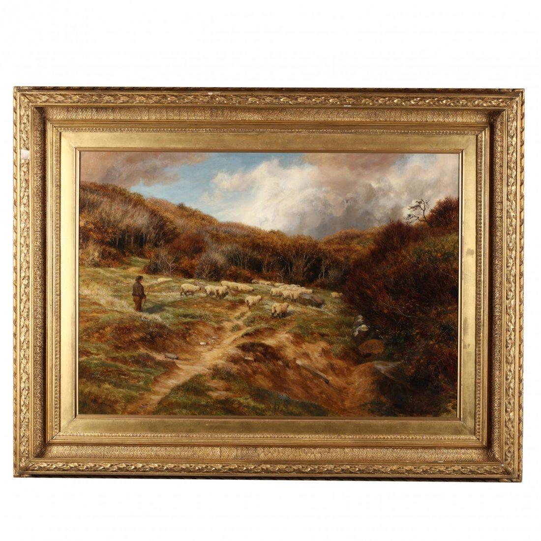 Charles Edward Johnson (Br., 1832-1913), Shephard and