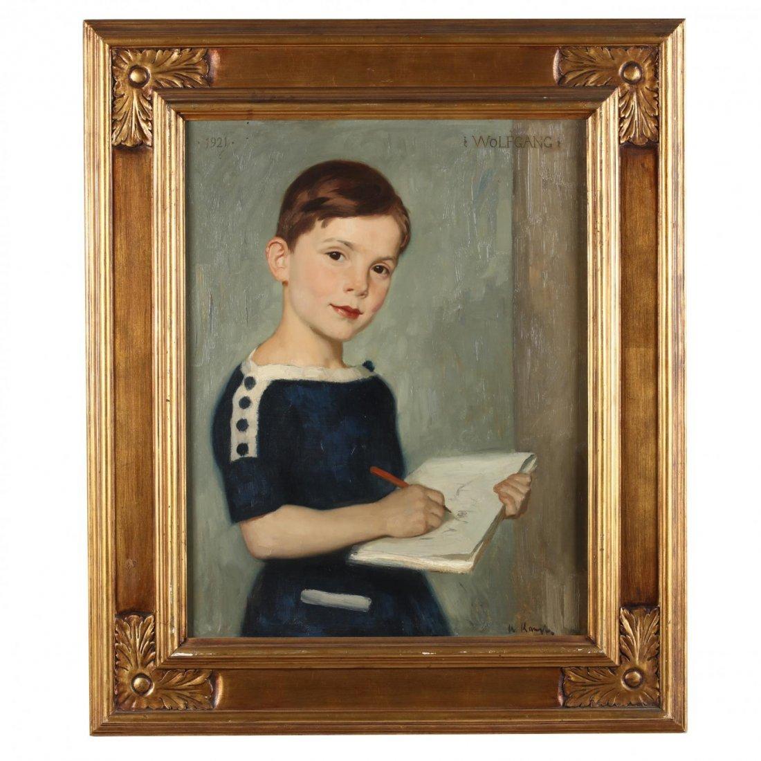 Arthur Kampf (German, 1864-1950), A Portrait of