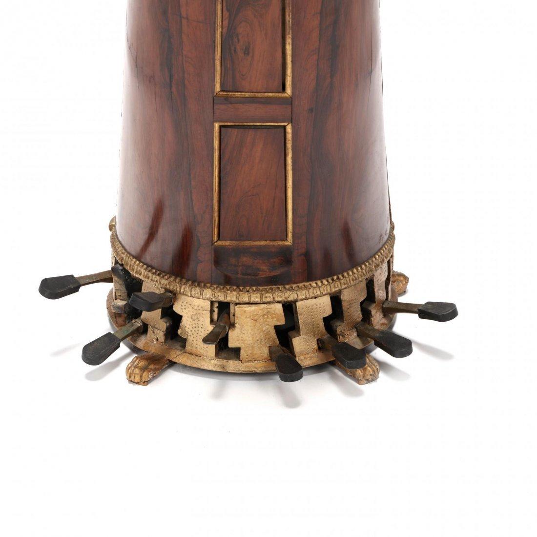 Regency Parcel Gilt Harp by Sebastian Erard - 8