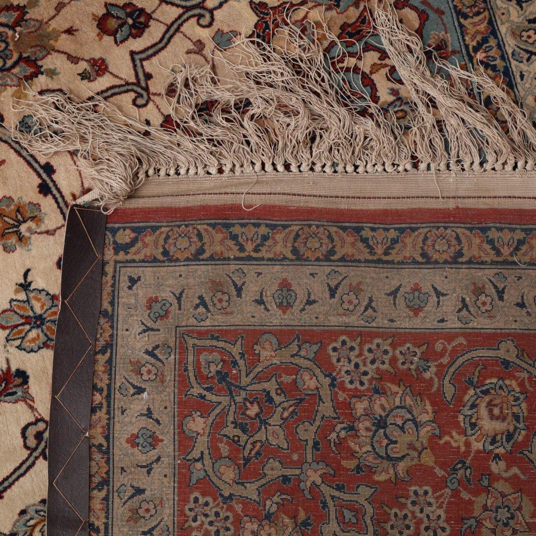 Persian Seirafian Isfahan Carpet, signed - 3