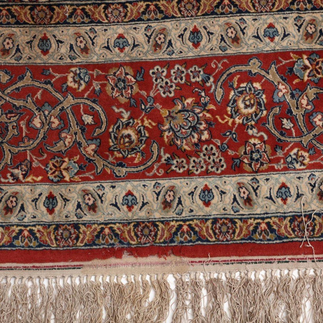 Persian Seirafian Isfahan Carpet, signed - 6