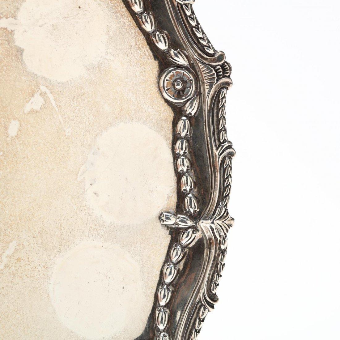 Georgian Silver Salver - 3
