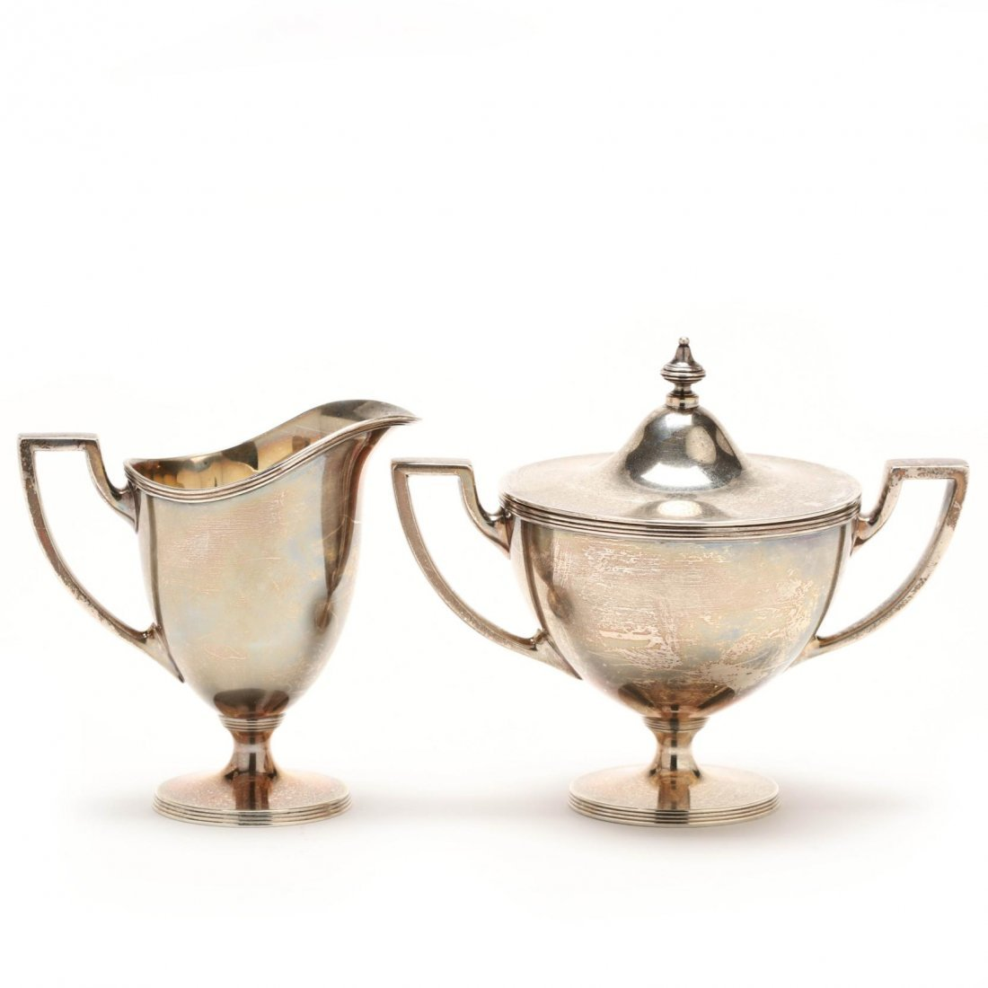 A Tiffany & Co. Sterling Silver Demitasse Set - 7