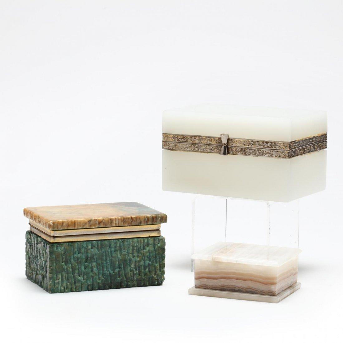 Three Decorative Boxes