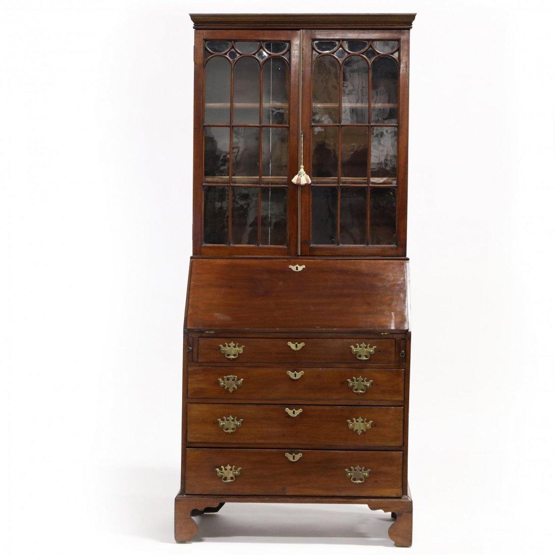 Chippendale Secretary Bookcase