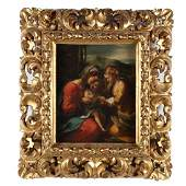 Italian Old Master Painting of the Madonna and Child