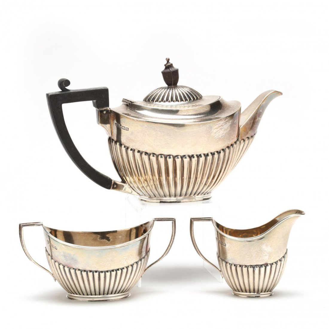 Edwardian Silver Tea Set