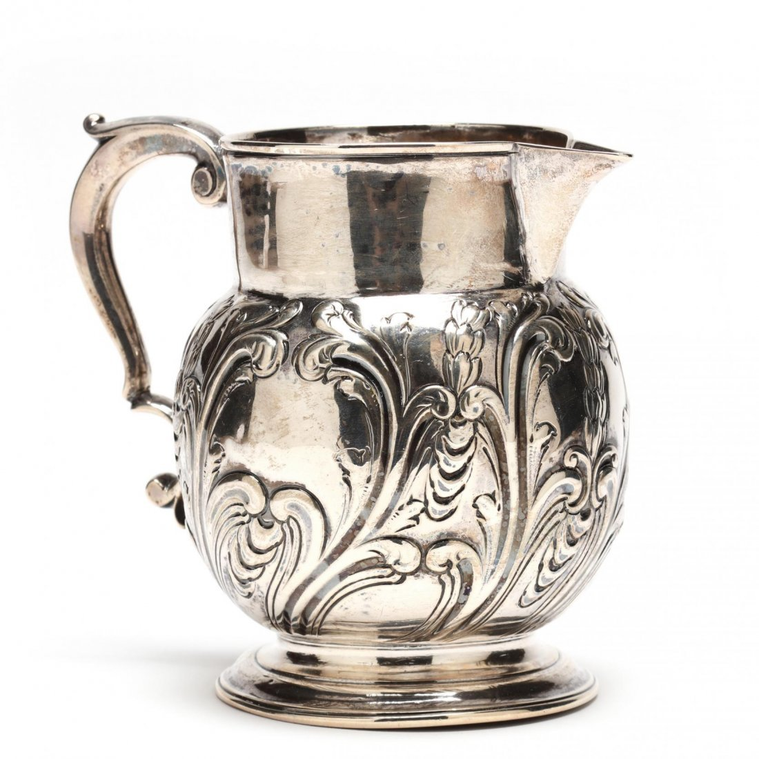 Georgian Silver Milk Pitcher
