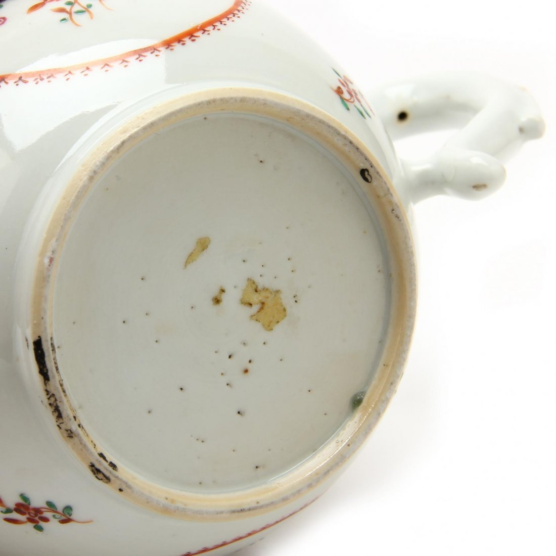 Three Antique Chinese Export Teapots - 3