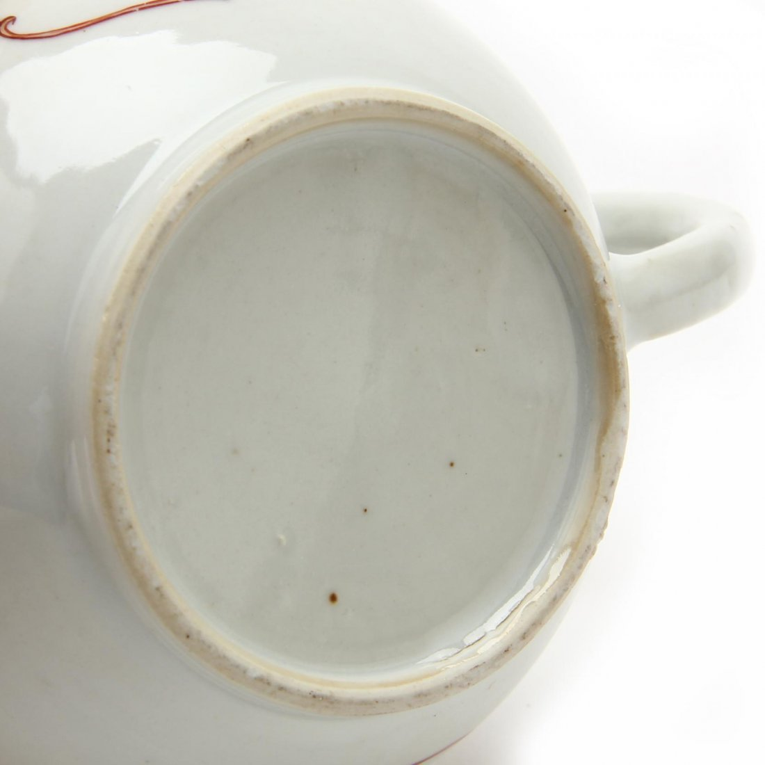 Three Antique Chinese Export Teapots - 4