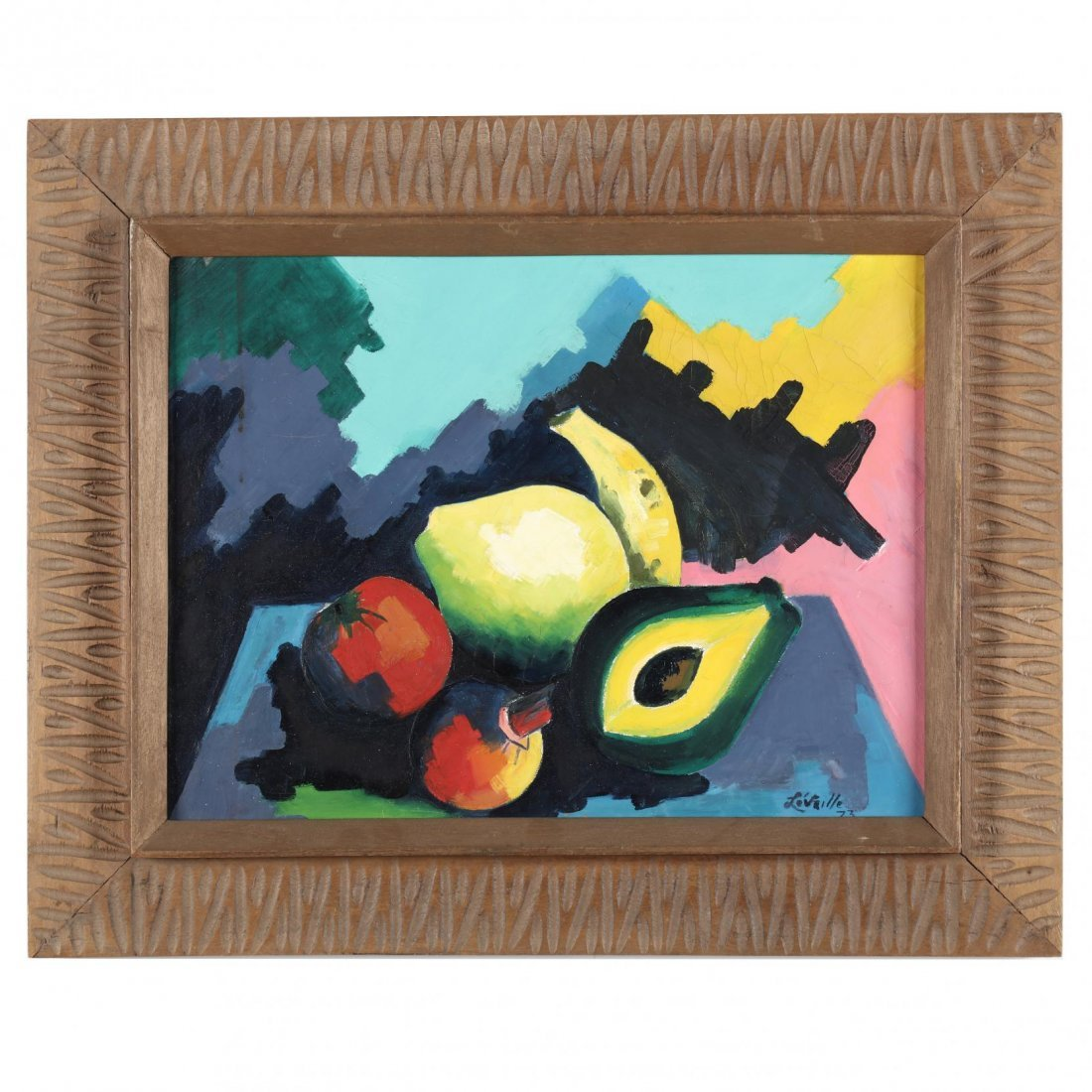 Haitian Still Life with Fruit