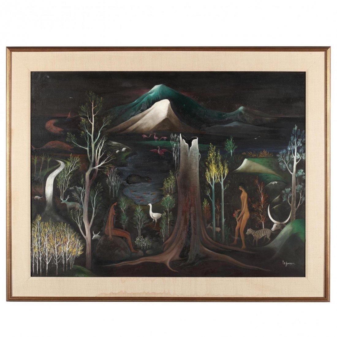 Jacques Enguerrand Gourgue (Haitian, 1931-1996), Adam