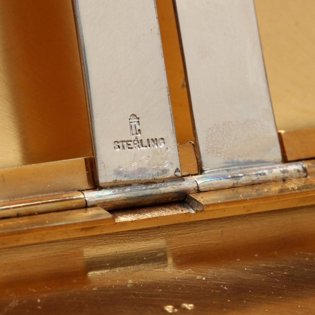 Vintage Sterling Silver Cigarette Case - 4