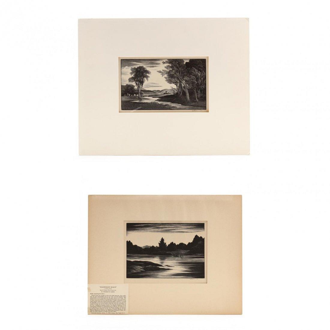 Thomas Willoughby Nason (American, 1889-1971), Two New