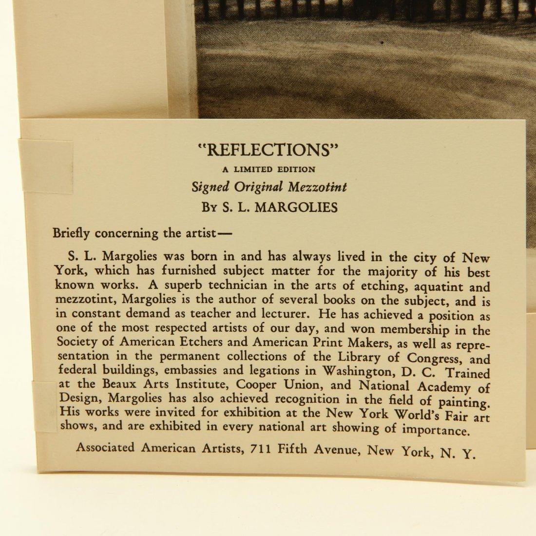 Samuel L. Margolies (American, 1897-1974),  Reflections - 3