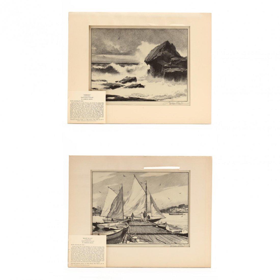 Gordon Grant (American, 1875-1962), Two Water Views
