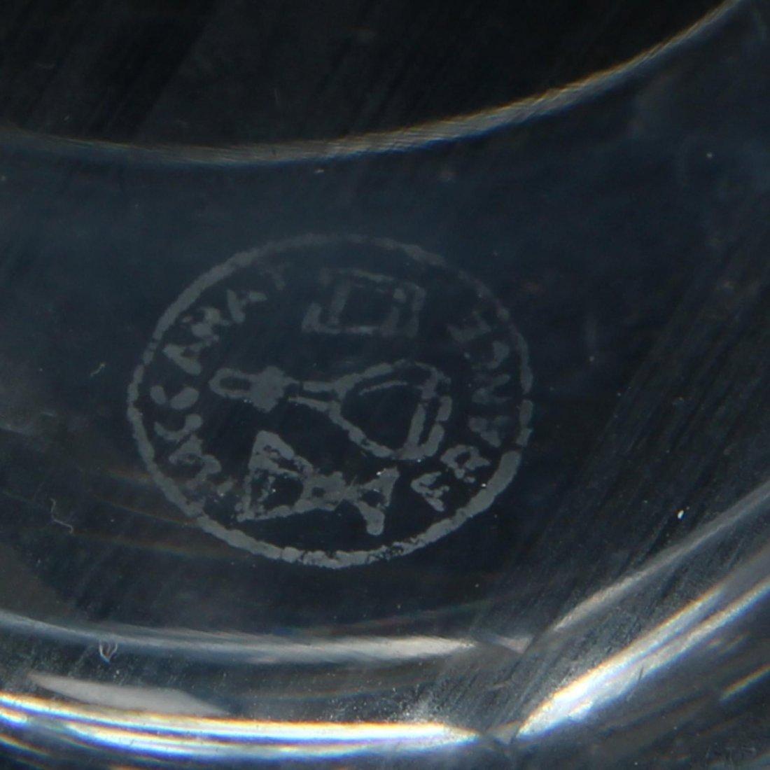 Set of Nine Baccarat Glass Tumblers - 2