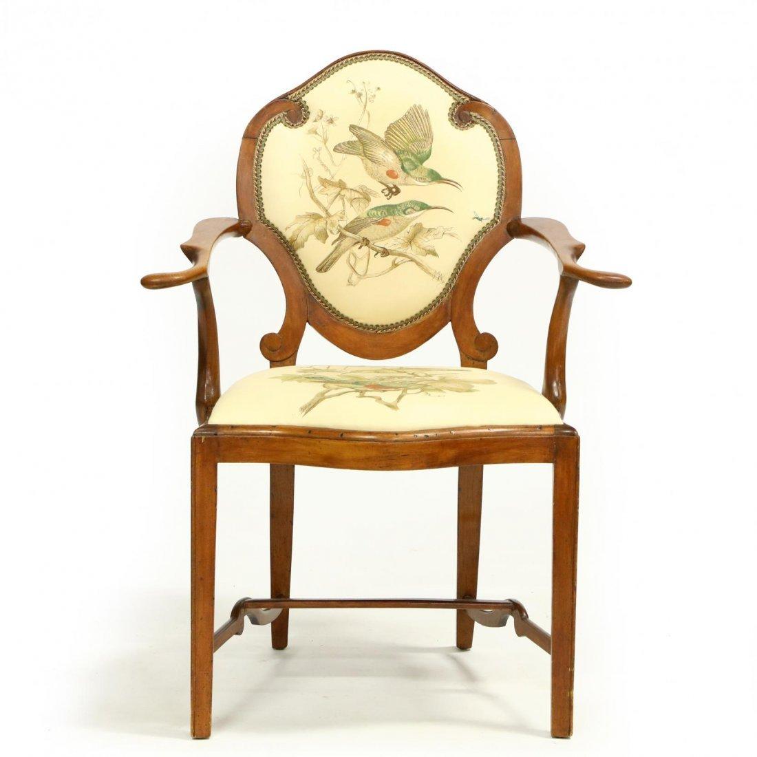 Continental Arm Chair