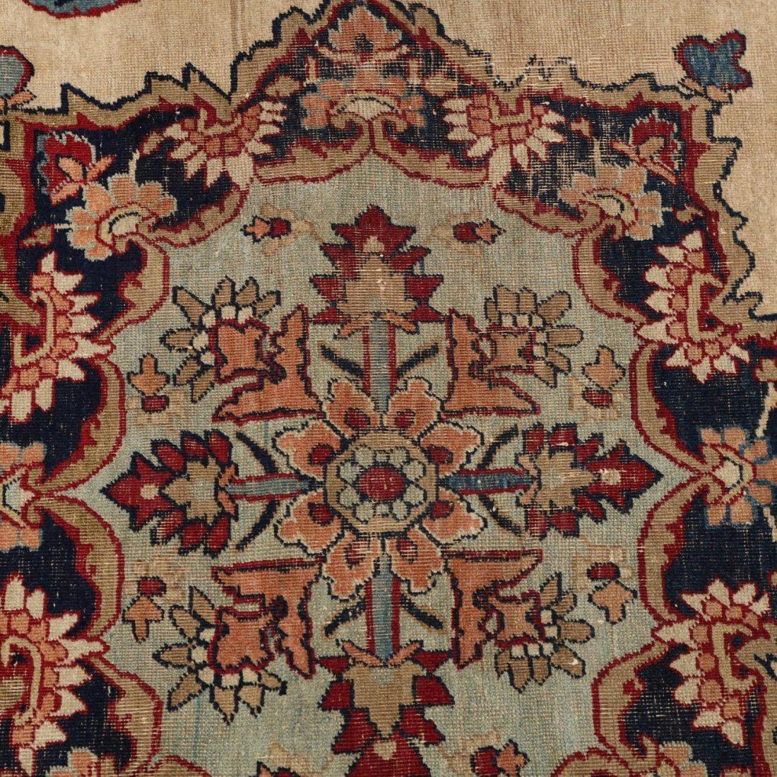 Vintage Lavar Kerman Rug - 4