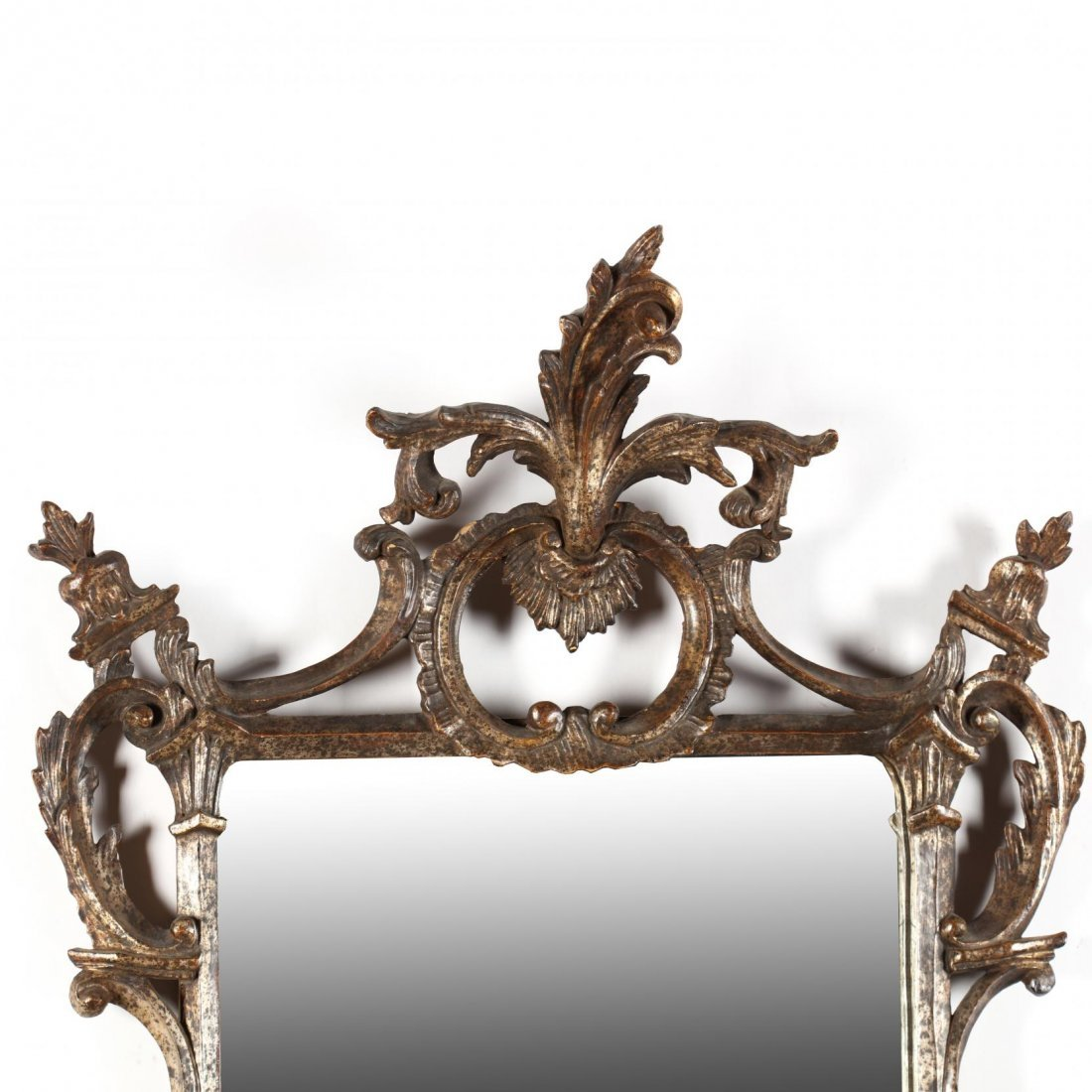 Italianate Carved Looking Glass - 2