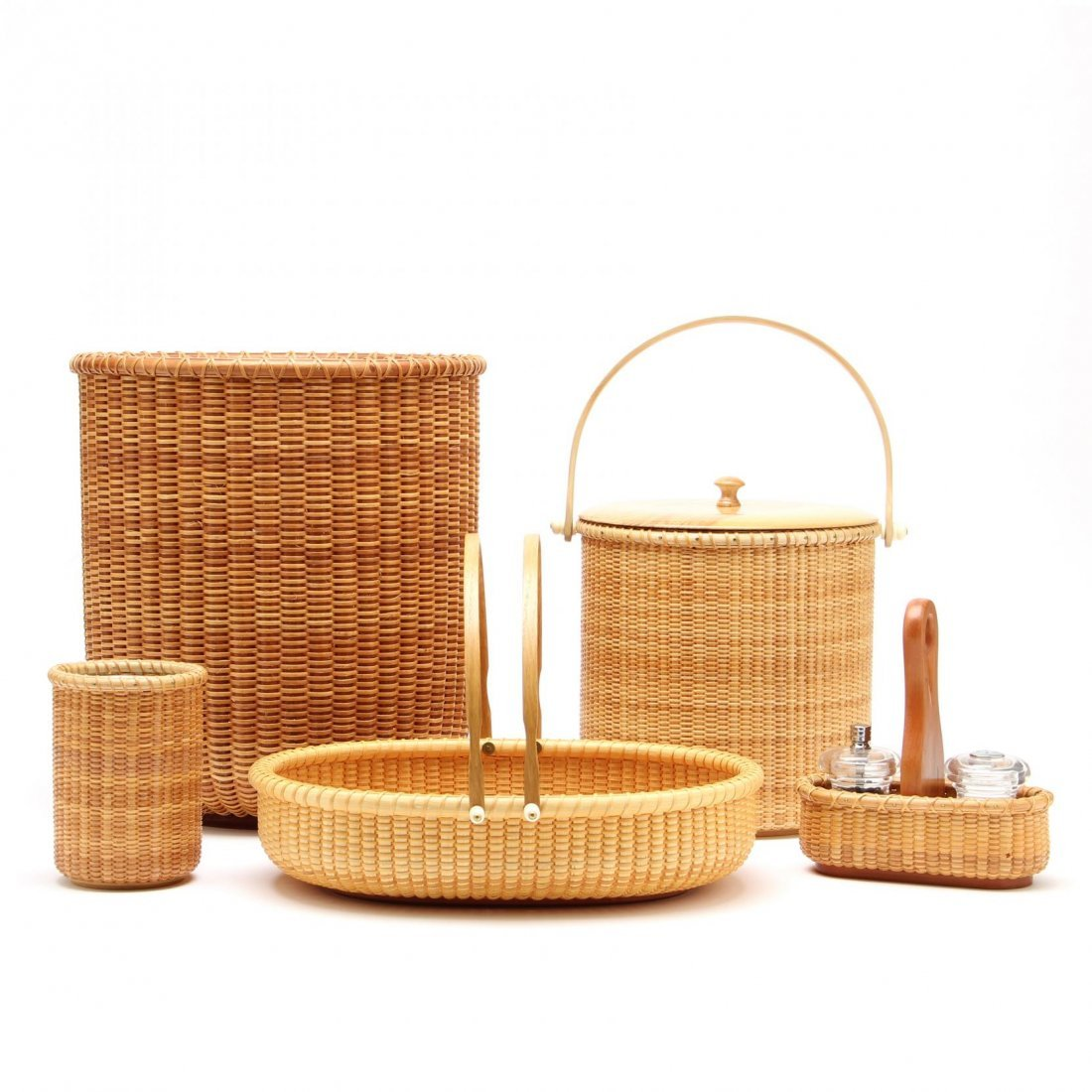 A Group of Nantucket Woven Accessories