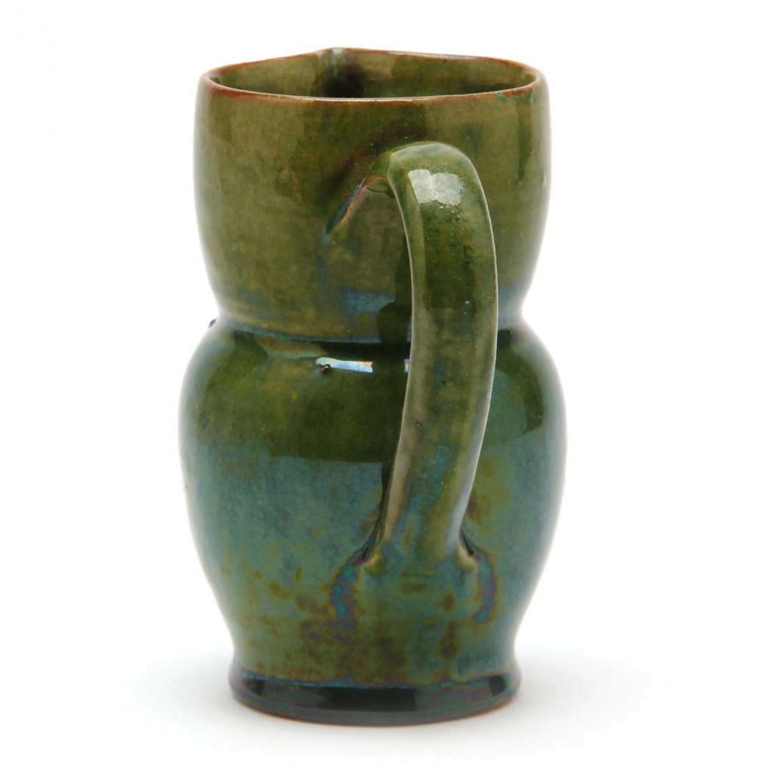 Diminutive Owl Pottery Pitcher - 2