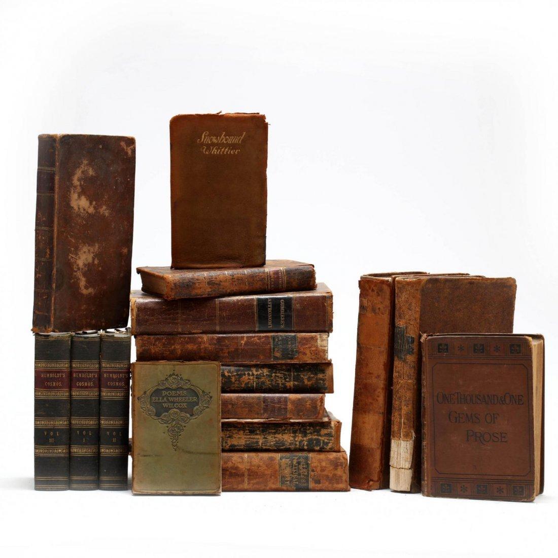 (15) 19th Century Books