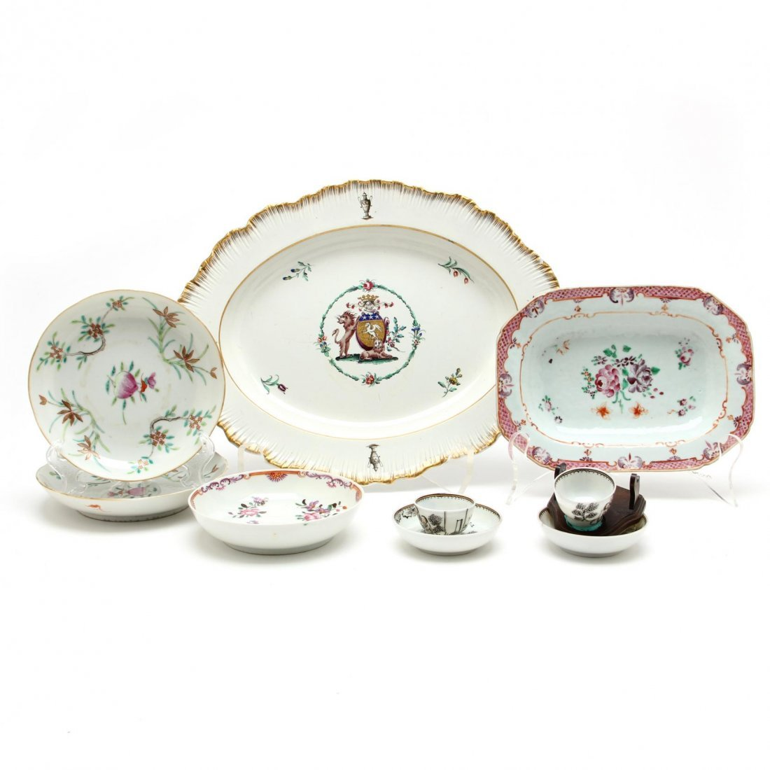 Group of Assorted Chinese Export Porcelain
