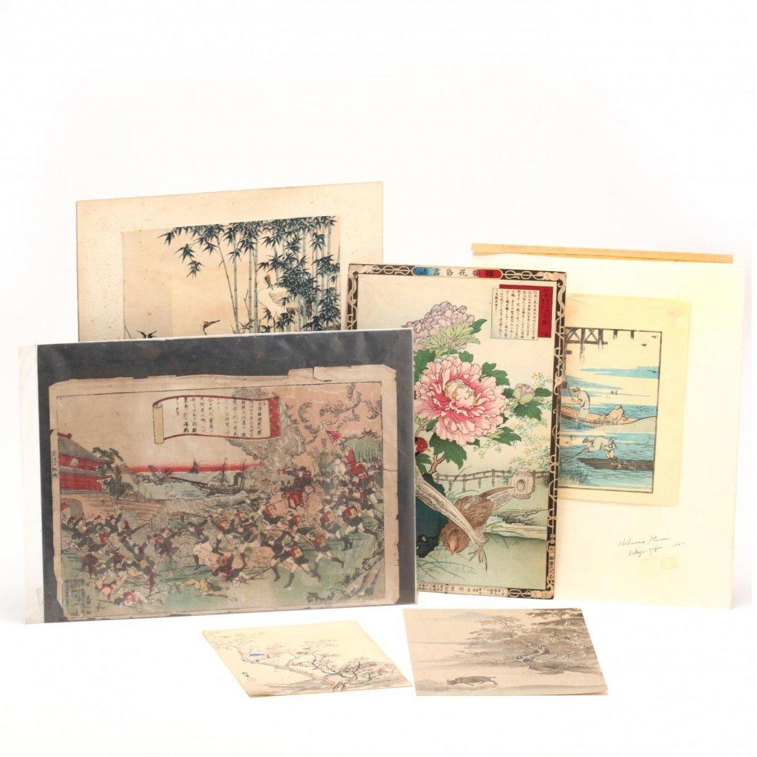 Group of Japanese Woodblock Prints