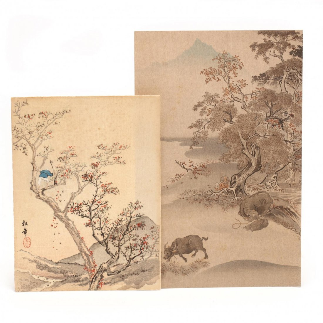 Group of Japanese Woodblock Prints - 6