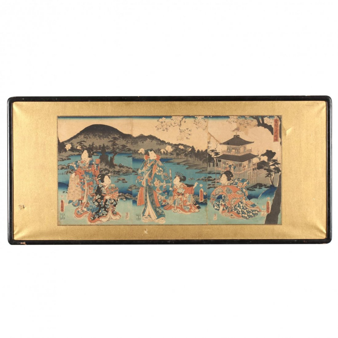 Group of Japanese Woodblock Prints - 2