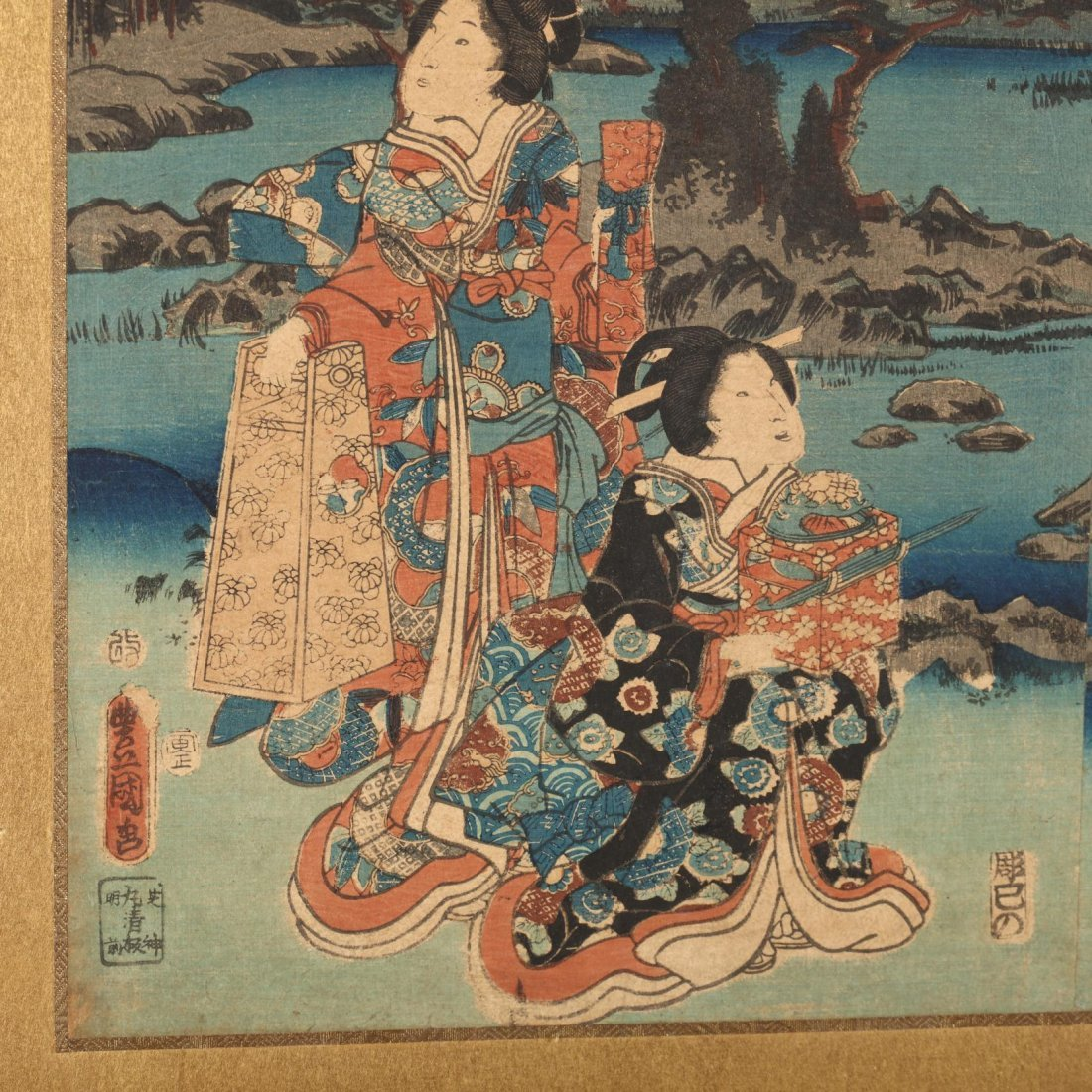 Group of Japanese Woodblock Prints - 3