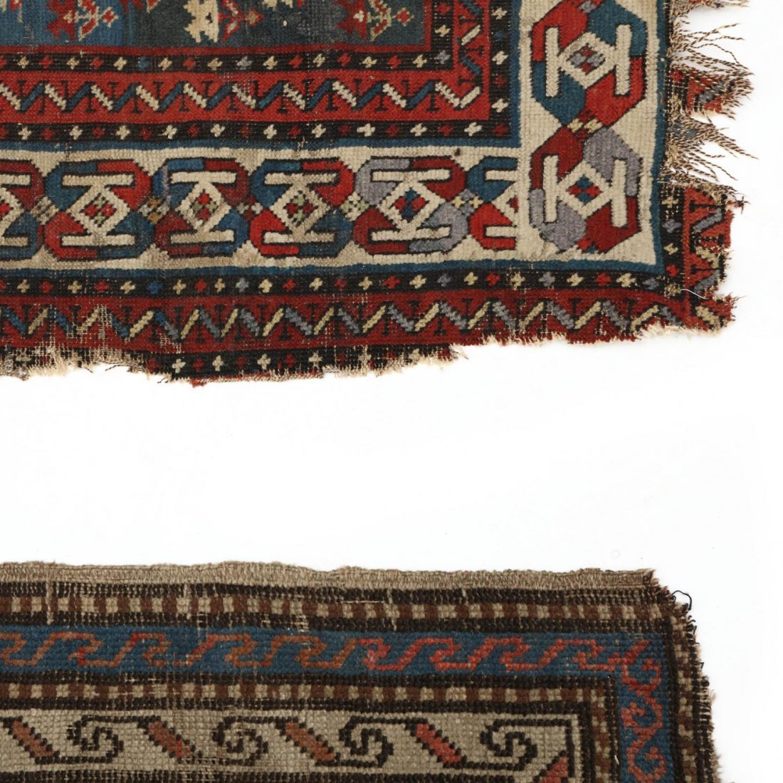 Two Semi Antique Persian Area Rugs - 2
