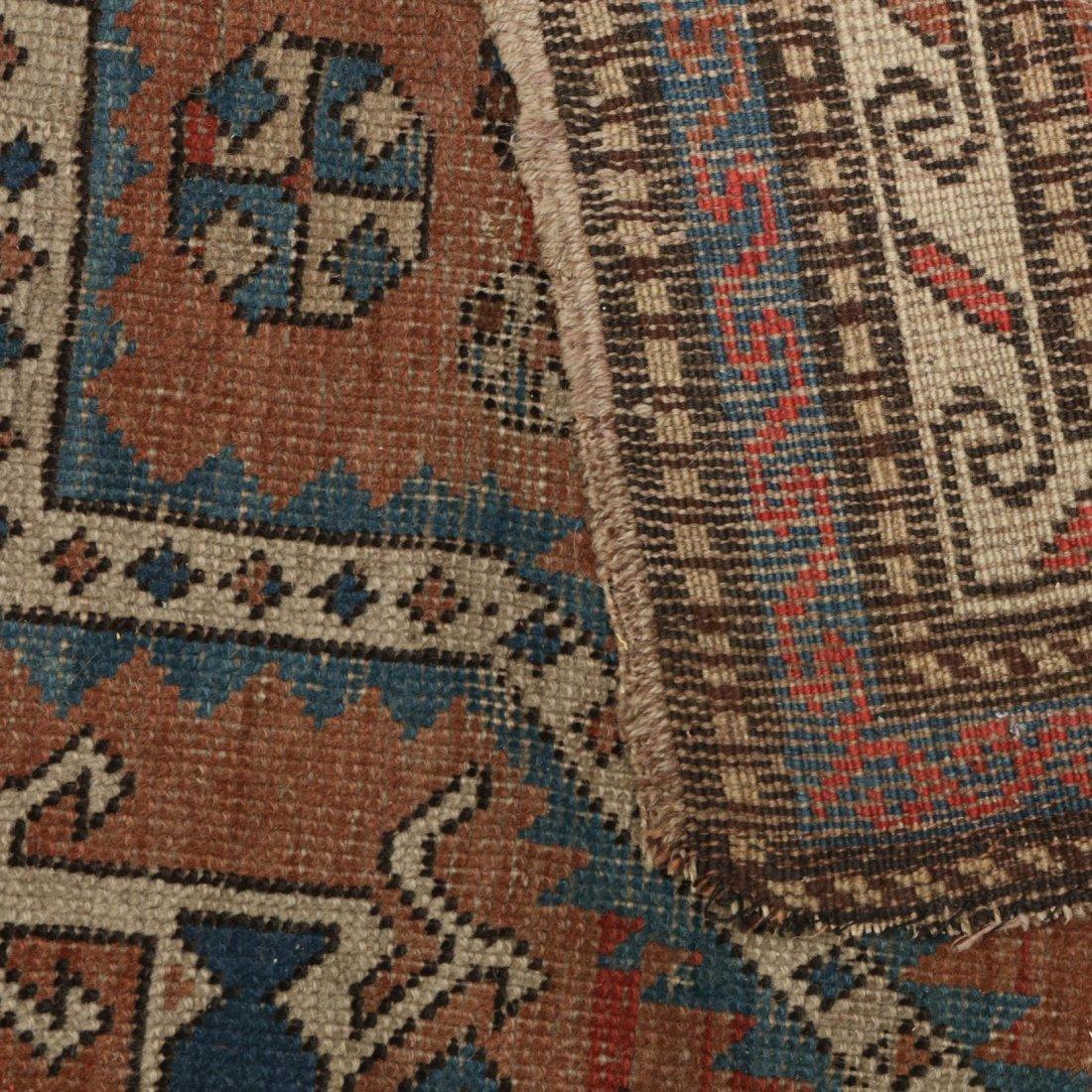 Two Semi Antique Persian Area Rugs - 3