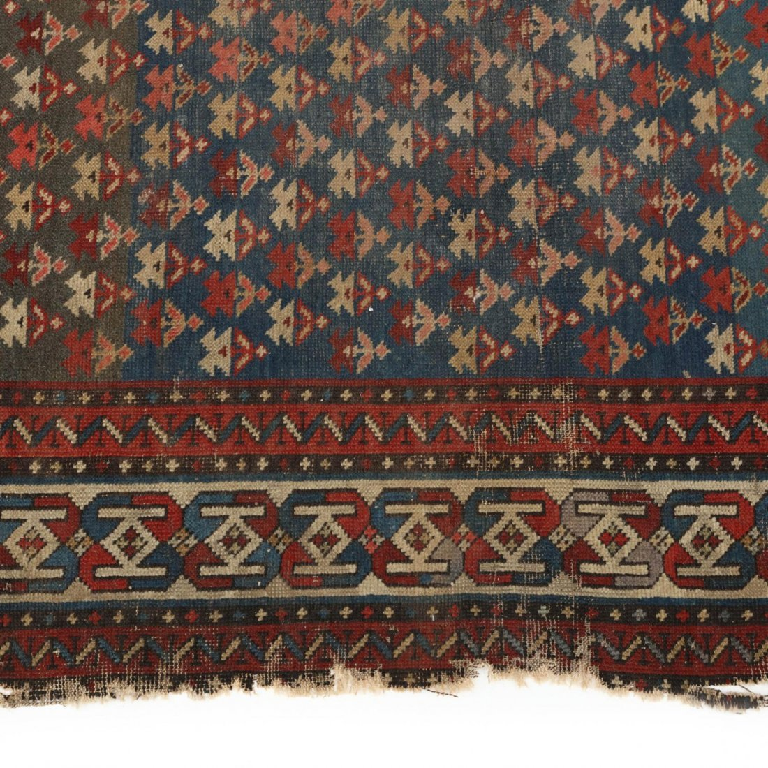 Two Semi Antique Persian Area Rugs - 4