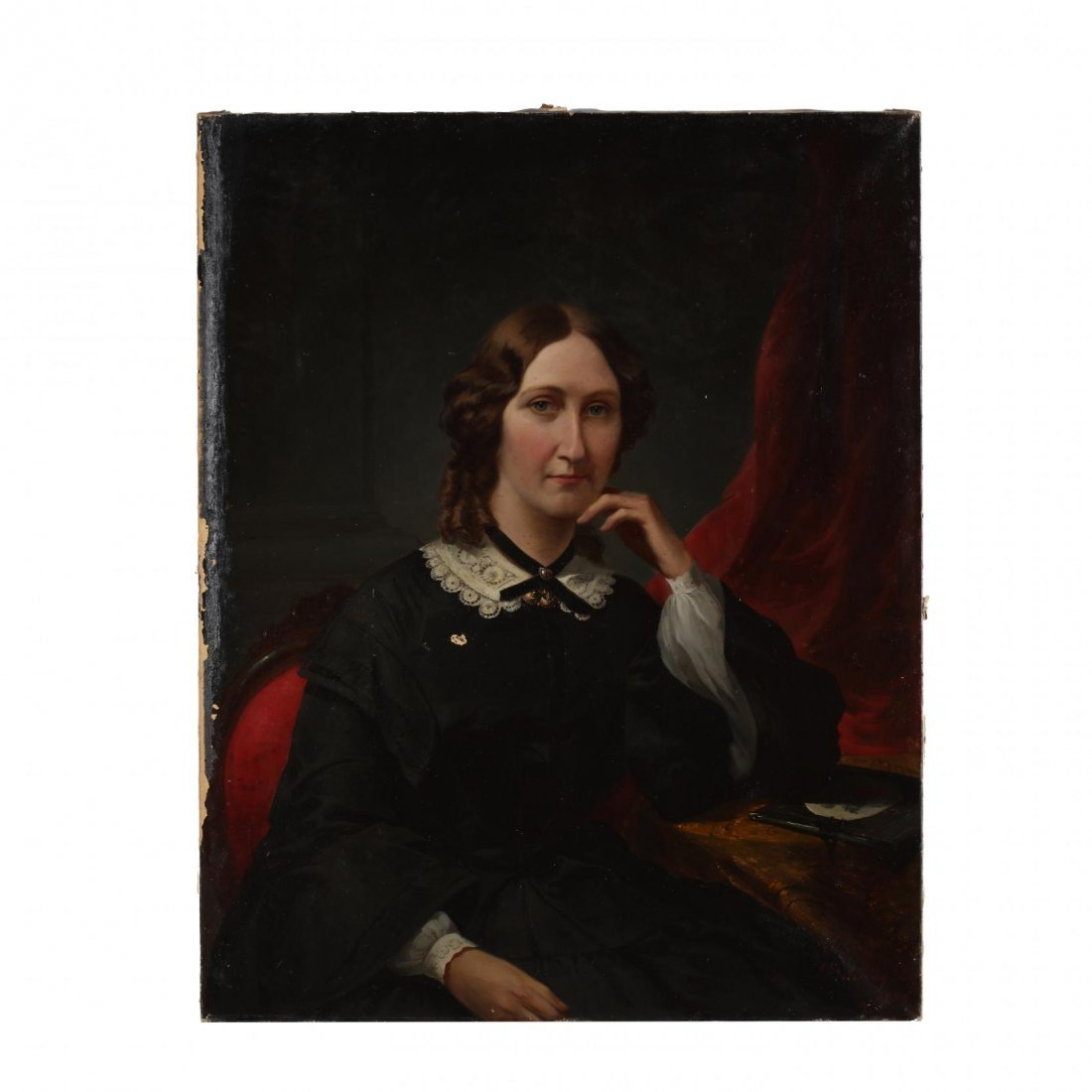 John Beaufain Irving (SC, 1825-1877), Portrait of a