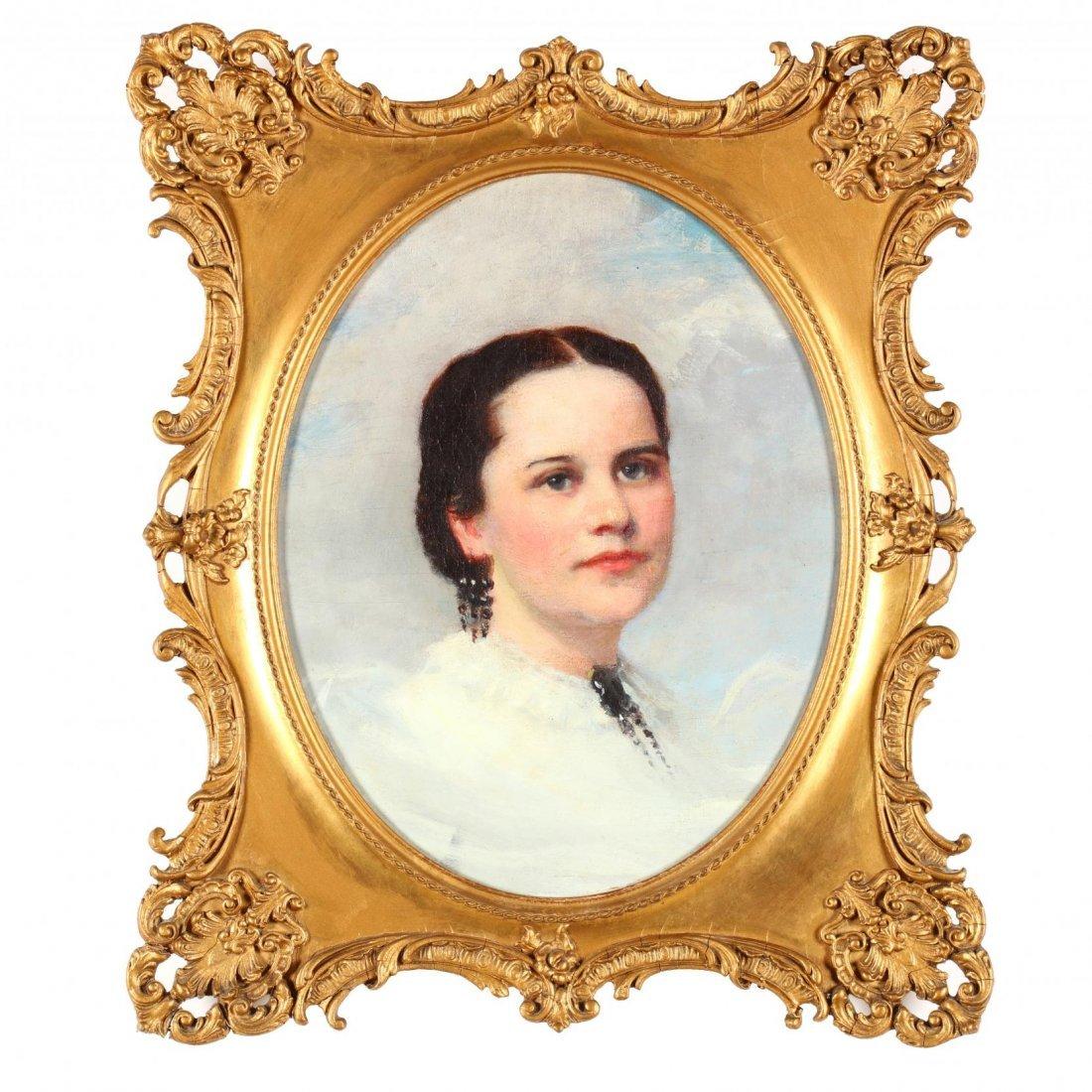 William Morton Jackson Rice (NY, 1854-1922), Portrait