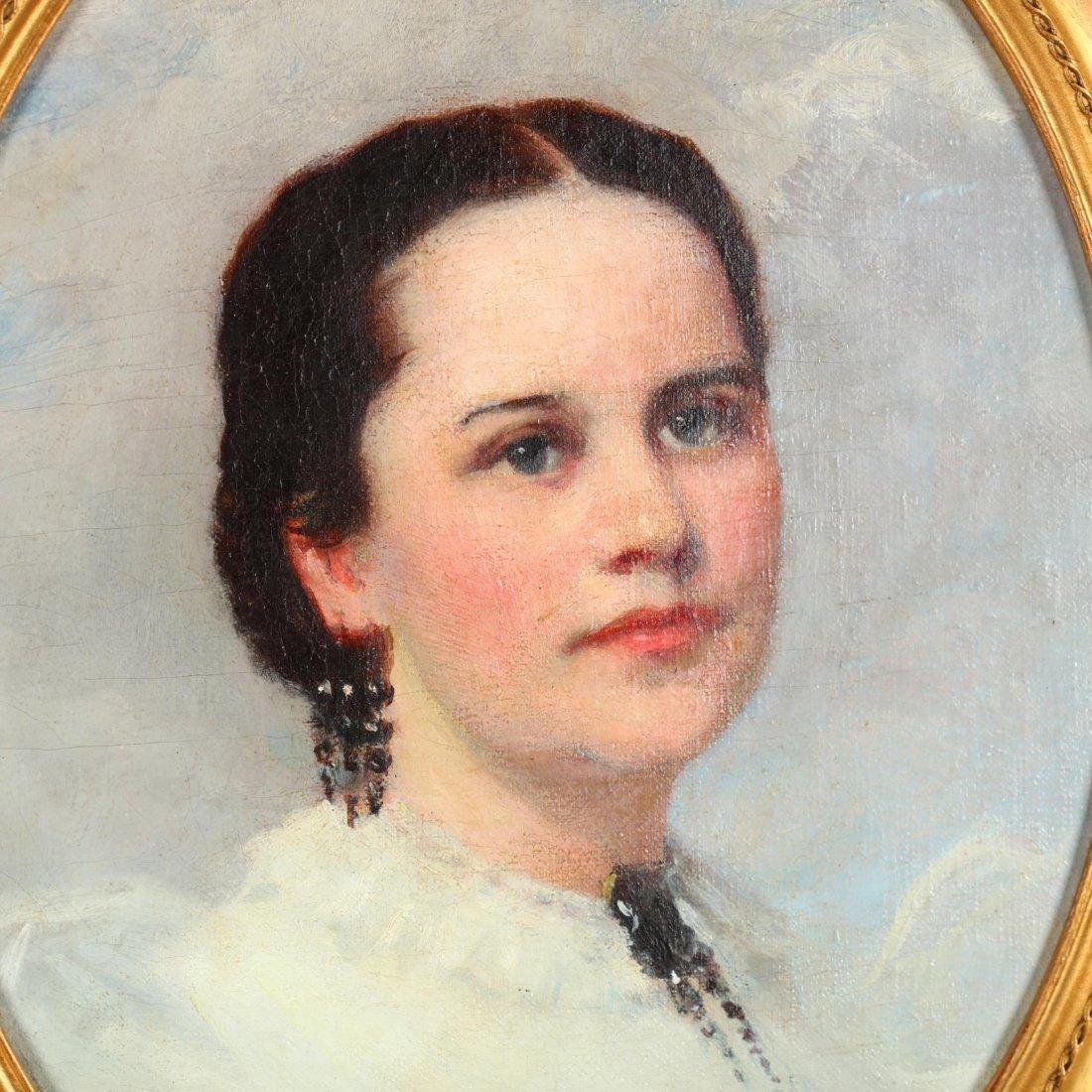 William Morton Jackson Rice (NY, 1854-1922), Portrait - 2