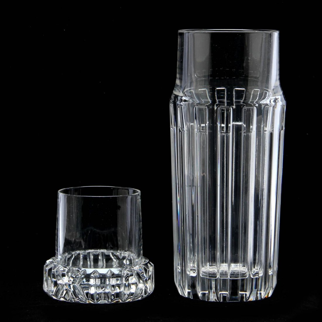 "Tiffany & Co., Crystal ""Atlas"" Carafe - 2"