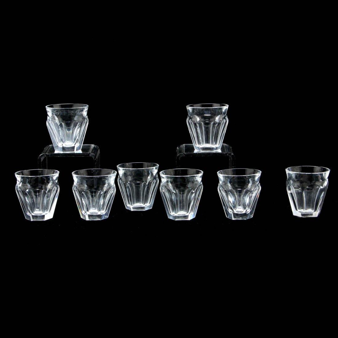 "Set of Eight Baccarat ""Tallyrand"" Shot Glasses"