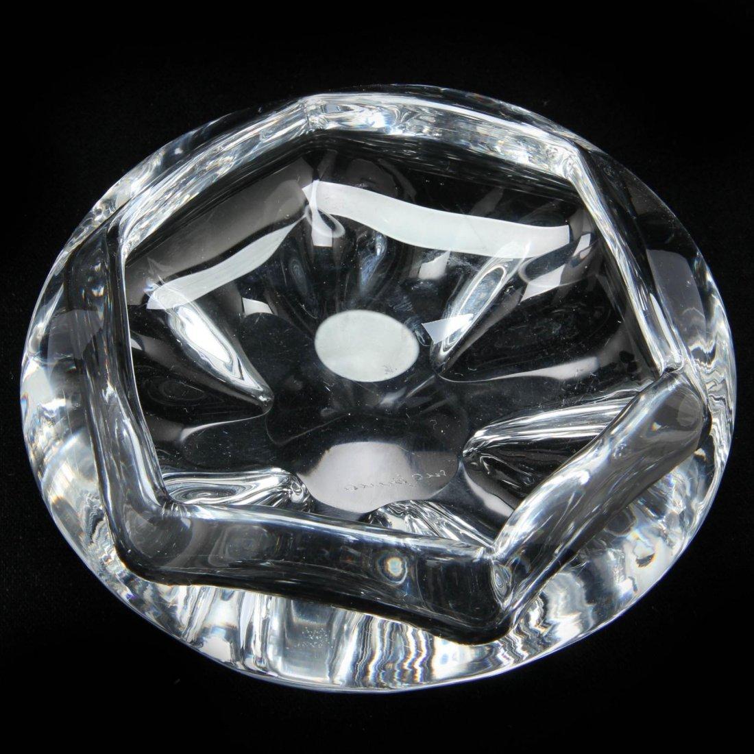 Orrefors, Crystal Cigar Bowl - 3