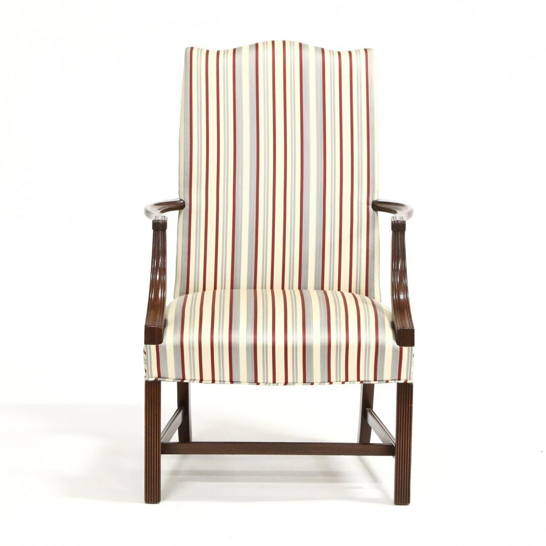Hickory Chair Co., Chippendale Style Lolling Chair