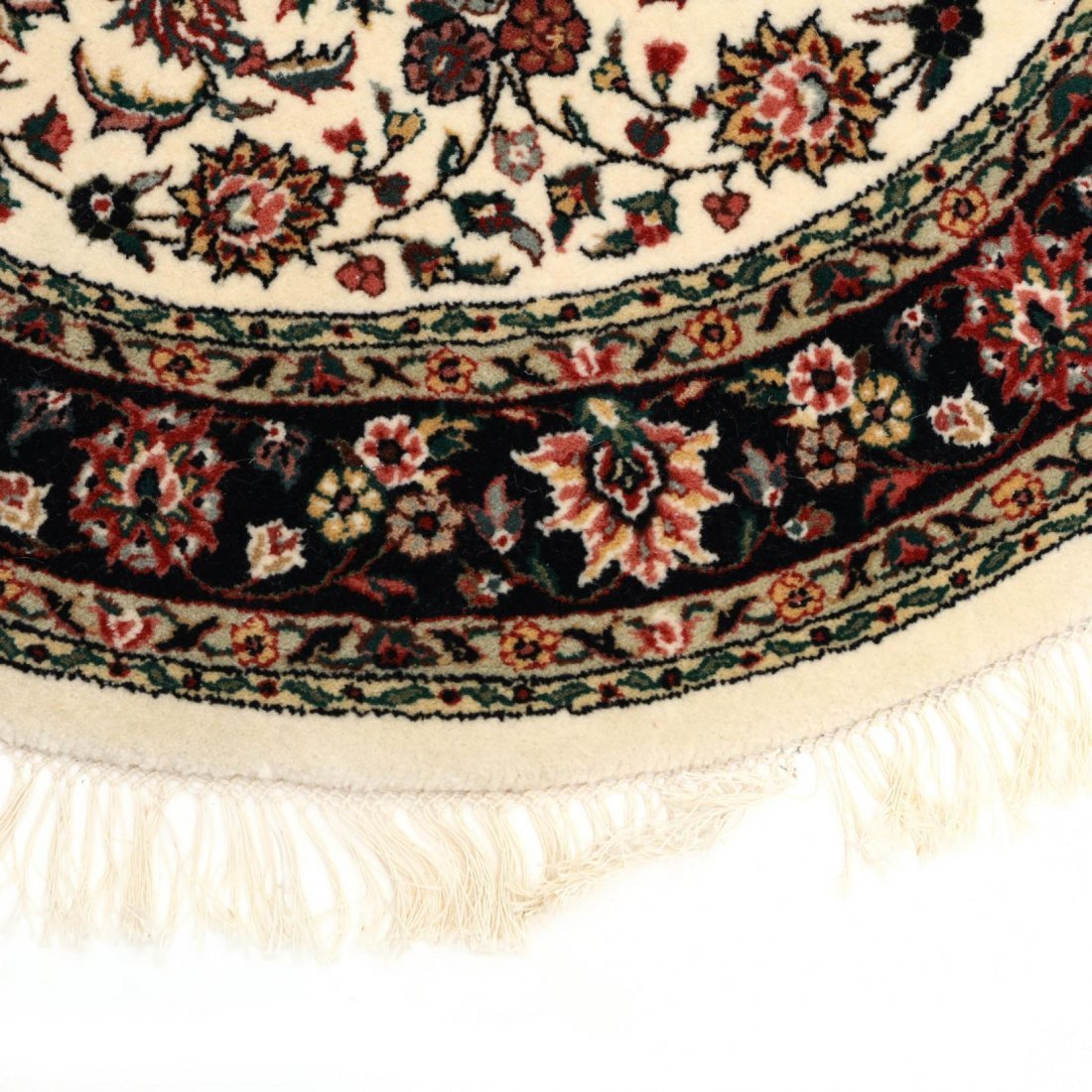 Two Indo Persian Area Rugs - 4