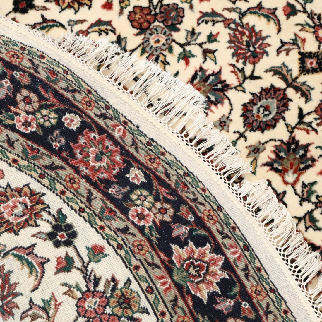 Two Indo Persian Area Rugs - 5