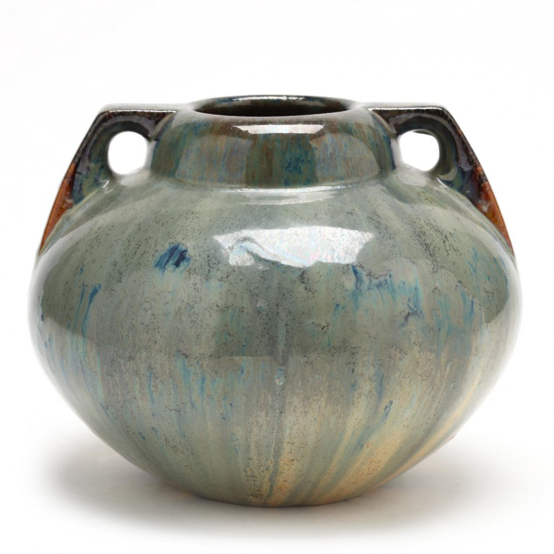 Fulper, Double Handled Arts and Crafts Pottery Vase