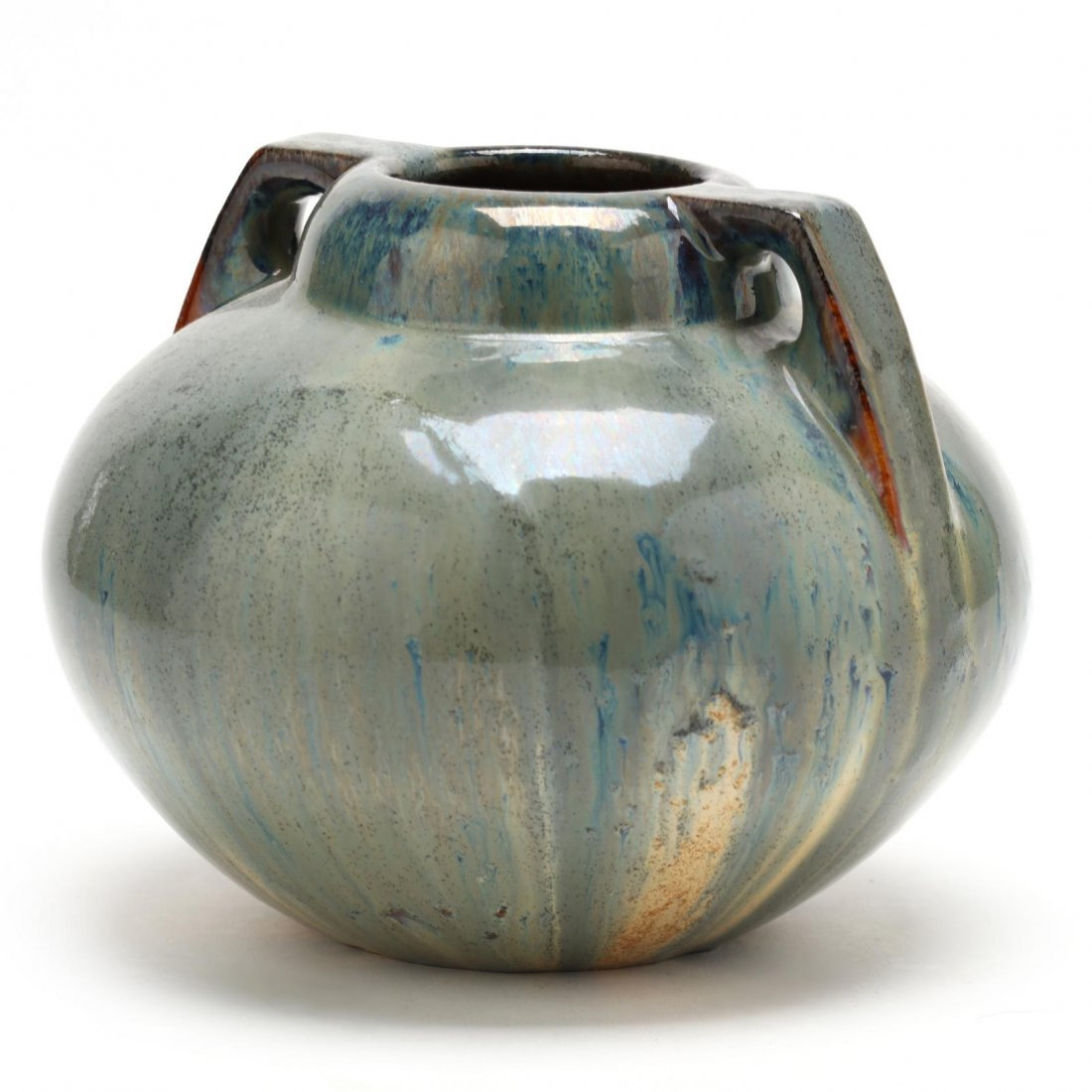 Fulper, Double Handled Arts and Crafts Pottery Vase - 3