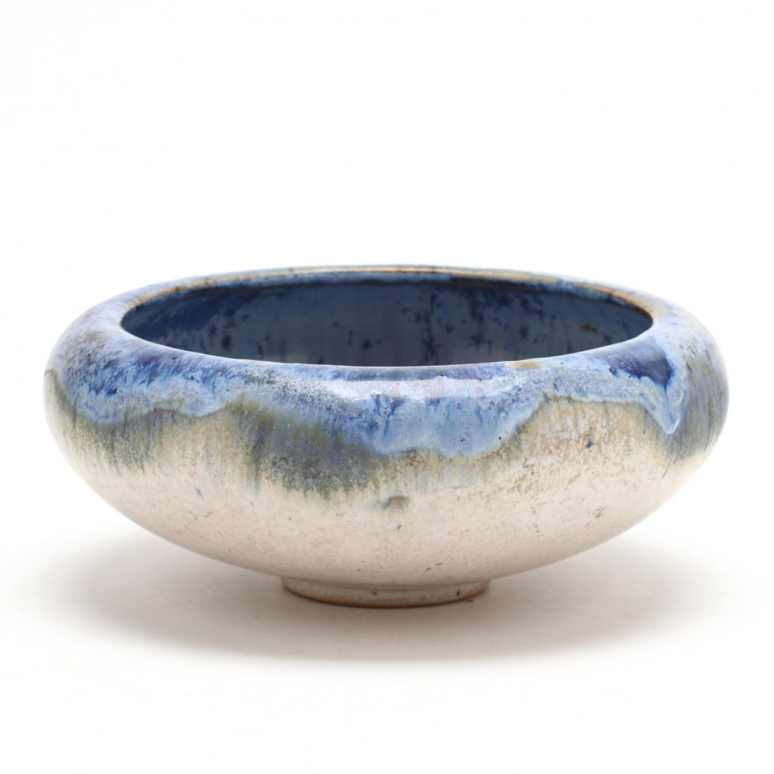 Fulper, Arts and Crafts Pottery Low Bowl