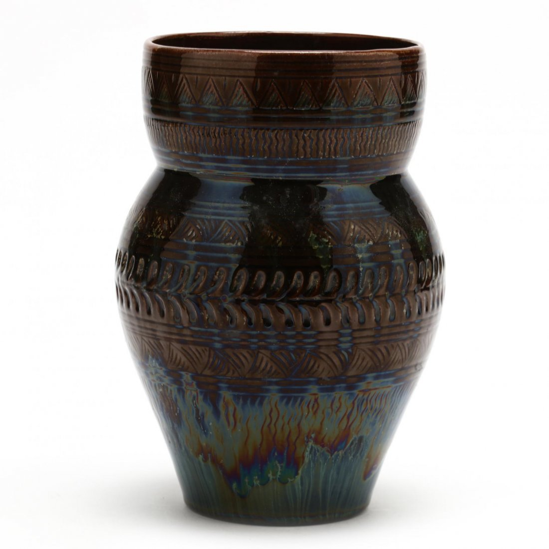 Christopher Dresser for Linthorpe, Pottery Vase